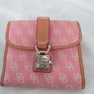 Dooney & Bourke Wallet pink used